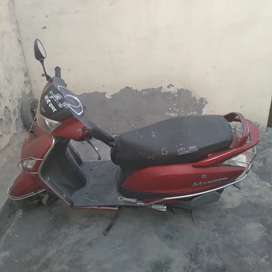6 year old scooty in good condition.