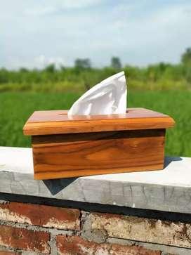 Kotak Tissue Jati