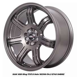 Velg mobil racing hsr siak ring 17 for ertiga grandmax sienta civic