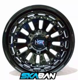 Jual velg racing HSR Ring 18 Untuk Mobil Fortuner, Ranger, Pajero
