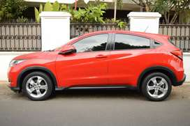 Honda HRV 2016 merah ferrari