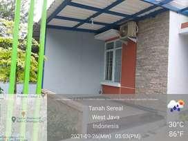 Dikontrakan rumah (baru) di Bukit Cimanggu City
