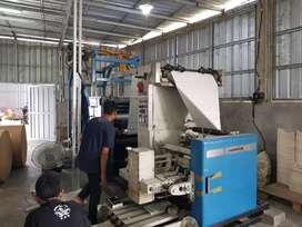 Web Harris V15 Cut off 57,8 Jalan Produksi Lancar PLC bstu