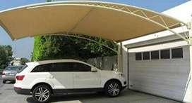 Nerimah pembuatan kanopi atap membarane @2794
