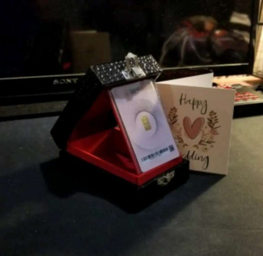 Kotak / box emas antam / perhiasan