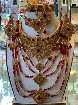 Jewellery for barat bridal