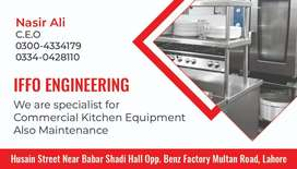 All kind of commercial kitchen equipments