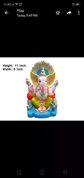 Eco friendly ganesha idol