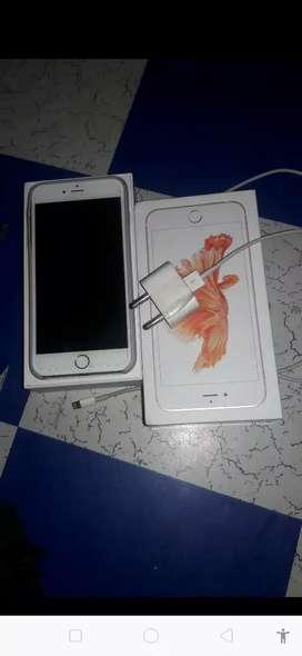 iPhone 6s puls mint condition 32gb no sracth