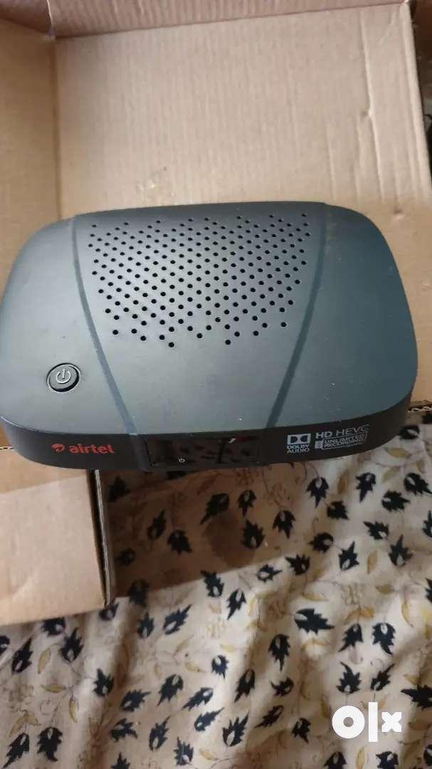 Airtel dish&set box 0