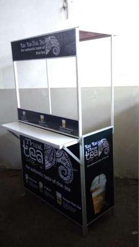 booth Portable paket lengkap