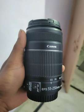 Canon 55-250mm lens with