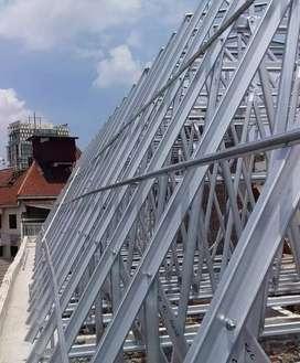 melayani pengerjaan atap baja ringan DAYA TAHAN TERJAMIN