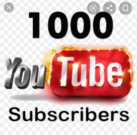 Subscriber for youtube