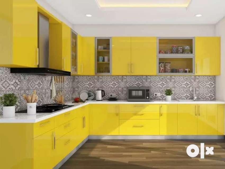 Interior and modualer kitchen