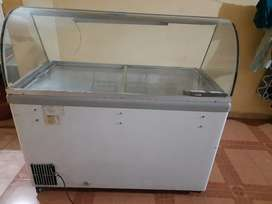 Elanpro freezer with 5 steel basket