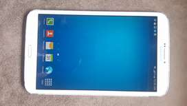Samsung Tablet SM-T311    8 inch white colour model with cover
