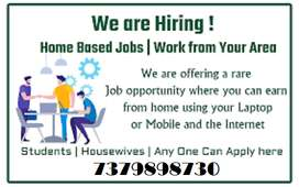 Candidates can call us for online jobs