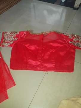 Full net saree with heavy weight