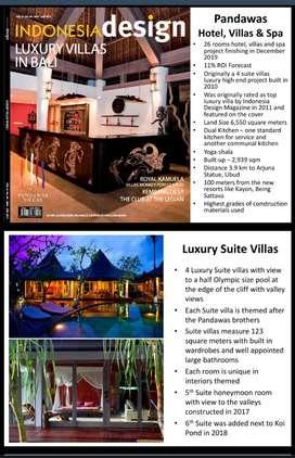Jual cepat pandawas hotel di Ubud Bali