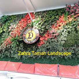 Taman Dinding /Vertikal Garden Sintetis
