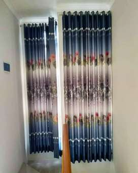 Gorden gordyn hordeng curtain jendela rumah apartemen sekolah dll