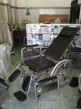 Kursi roda lansia multifungsi 3in1 selonjor tiduran bab