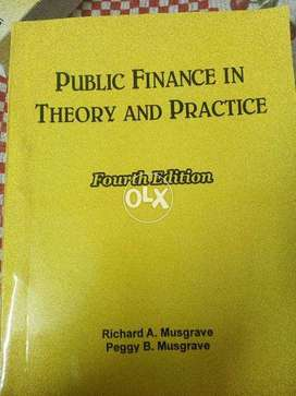 Public finance in theory and practice book(4th Edition)