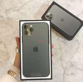 iPhone 11 pro max 64gb green garansi indo
