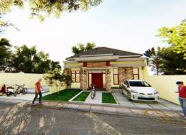 Rumah MINIMALIS SUDAH Fasilitas KOL. RENANG