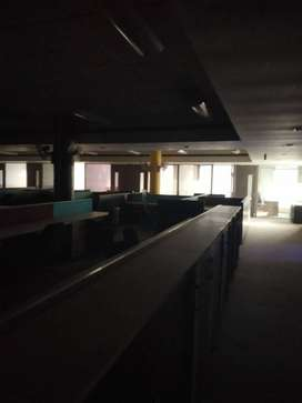 Approx 32000 sqft full furnished office for rent kirti nagar