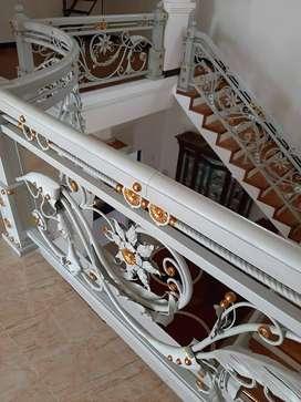 Railing tangga dan Balkon modern