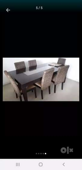 Indonesian Wood Dining Table