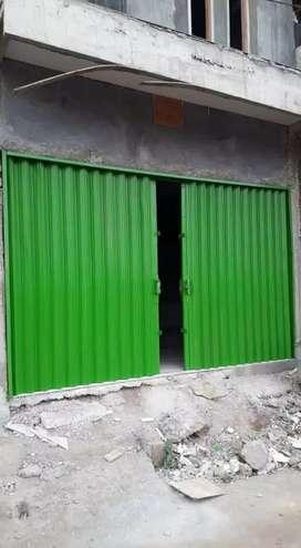 Pintu polding gate dan rolling door