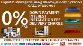 Furniture & Electronics 0% EMI in NARUVAMOODU with Free Delivery