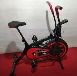 Gudang alat fitness /platinum bike 2 fungsi