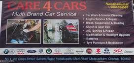 Wanted car technician helper or freshers car service