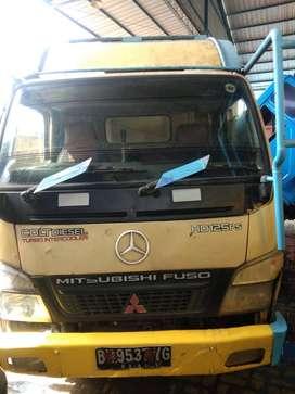 Mitsubishi Colt Diesel FE 74 HDV Dump Truck Tahun 2011