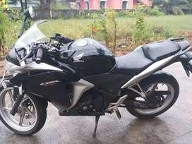 Well conditioned cbr 250 r. Black colour