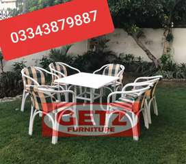 Garden Chairs Table Available