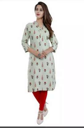 Stylish Cotton Women's Kurti