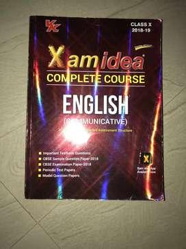 Class X English books