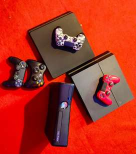 PlayStation Xbox PS4 very good condition  PS4 all version available