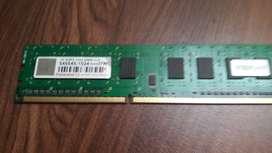 RAM 1 GB DDR3 1333 Mhz Transcend urgent sale