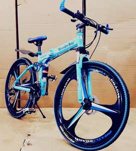 Mercedes Benz Foldable Bicycle