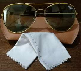 Unisex Golden Frame New Aviator Sunglass