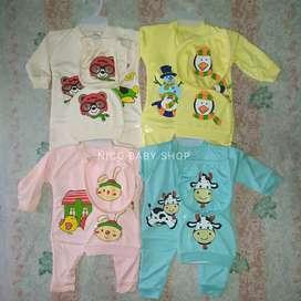 Baju bayi new born ( isi 4 set )