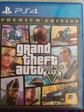 BD GTA V PREMIUM EDITION PS4 ORIGINAL