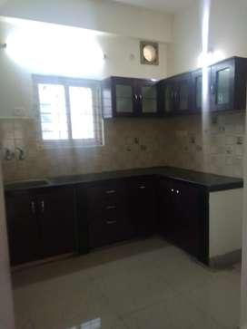 30k rent 3bhk flat for rent in hitech city with semi furnised