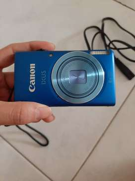 Kamera pocket canon tipe Ixus 132 kondisi bagus